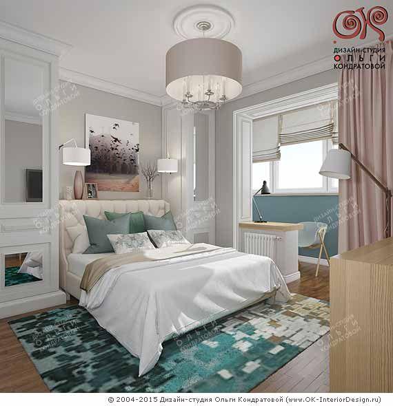 Дизайн спальни в современном стиле  http://www.ok-interiordesign.ru/ph18_bedroom_interior_design.php