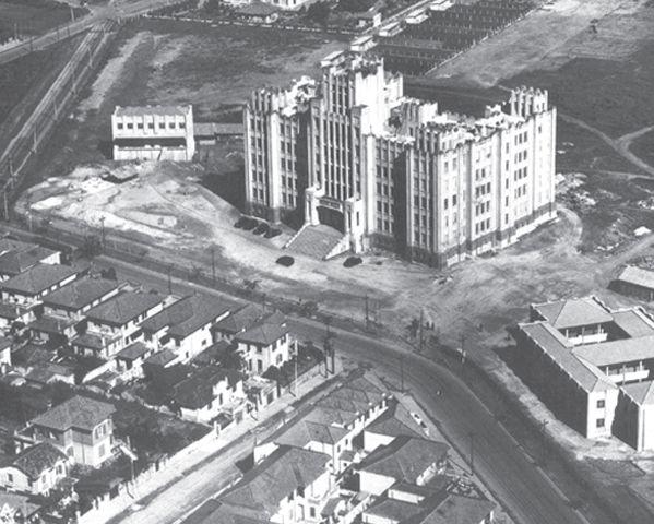 Imagem aérea do Instituto Biológico/Guia de Bens Culturais da Cidade de São Paulo