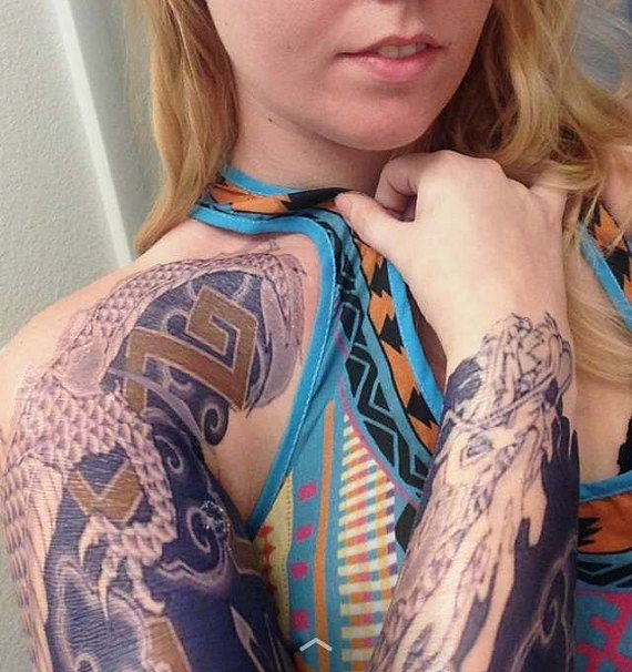 25 beautiful temporary tattoo sleeves ideas on pinterest