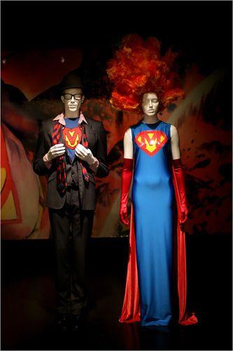 Superman Fashion at the Metropolitan Museum Of Art Costume Institute Gala 2008 Superheroes Fashion and Fantasy
