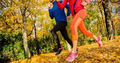 How to embrace autumn running
