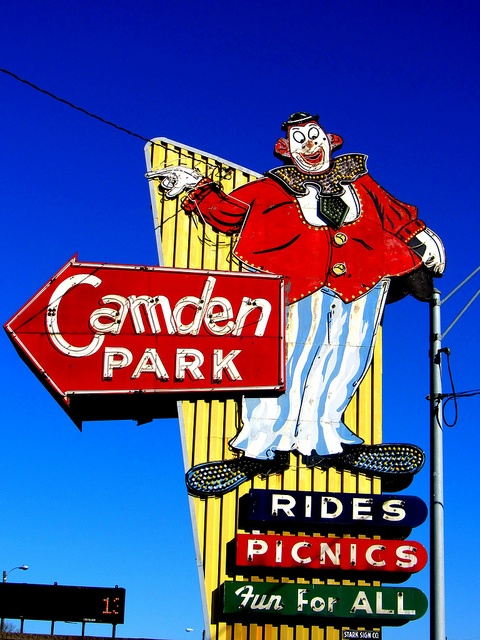 Camden Park ~ West Virginia's only amusement park ~ over 100 yrs. old & still has the original wooden roller coaster The Big Dipper ~ EVERY summer until I lef home!