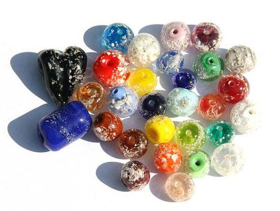 Memorial bead by LampworkDK on Etsy, $15.00
