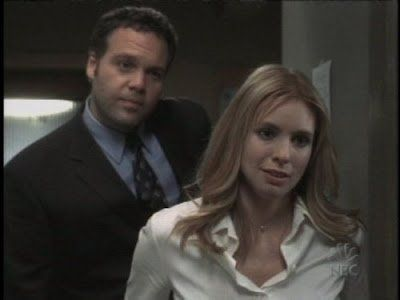 Nicole Wallace. I hated her character when she was on Law and Order CI. She pissed me off so hard.
