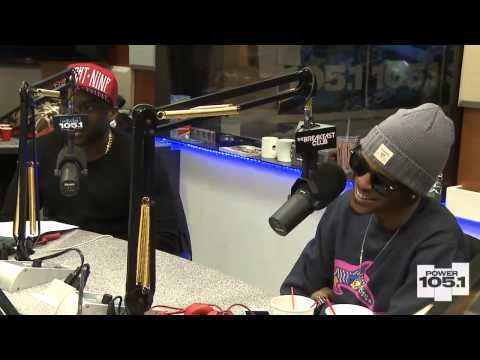 Interview With August Alsina At The Breakfast Club Power 105.1 [Part 2]