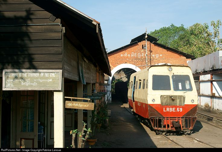59 Myanmar Railways LRBE at Mawlamyine, Myanmar by Fabrice Lanoue
