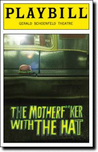 Motherf**ker with the Hat at the Gerald Schoenfeld Theatre. Opening Night, March 2011.