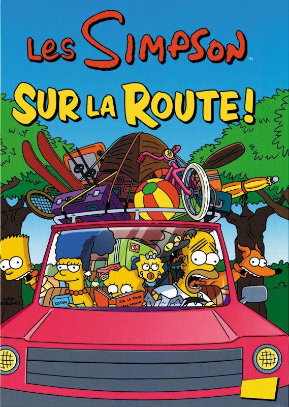 Les Simpson, tome 22 : Sur la route ! - Matt Groëning. 48 Pages, Couverture cartonnée. 22,5 x 30,3 cm. #BD #Simpson
