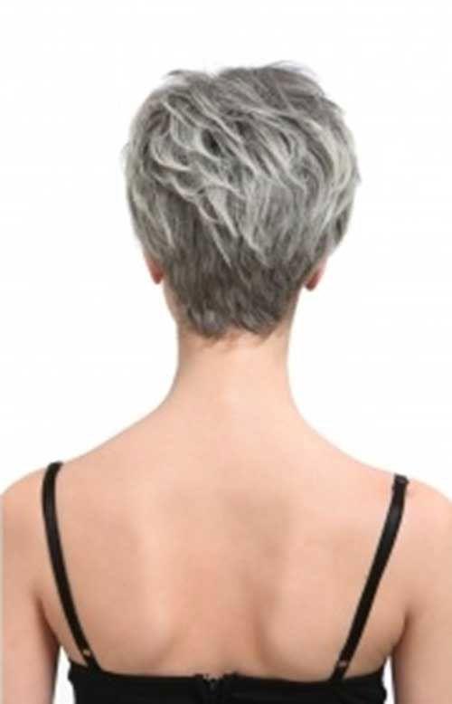 short hair view