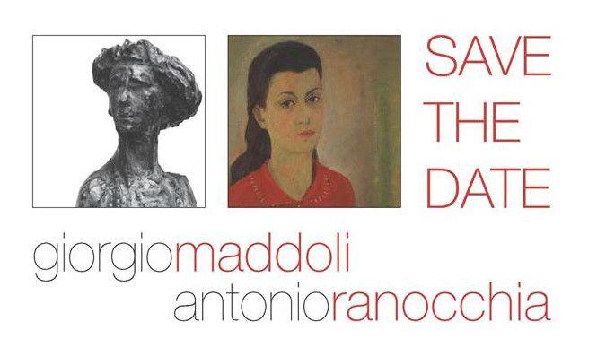 La mostra a Palazzo Baldeschi in Perugia fino al 31 marzo 2016 su due grandi artisti del Novecento