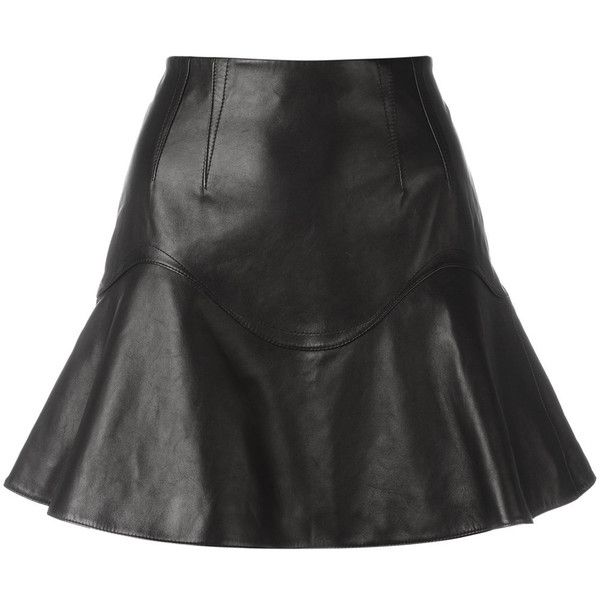 17 Best ideas about Pleated Leather Skirt on Pinterest | Black ...