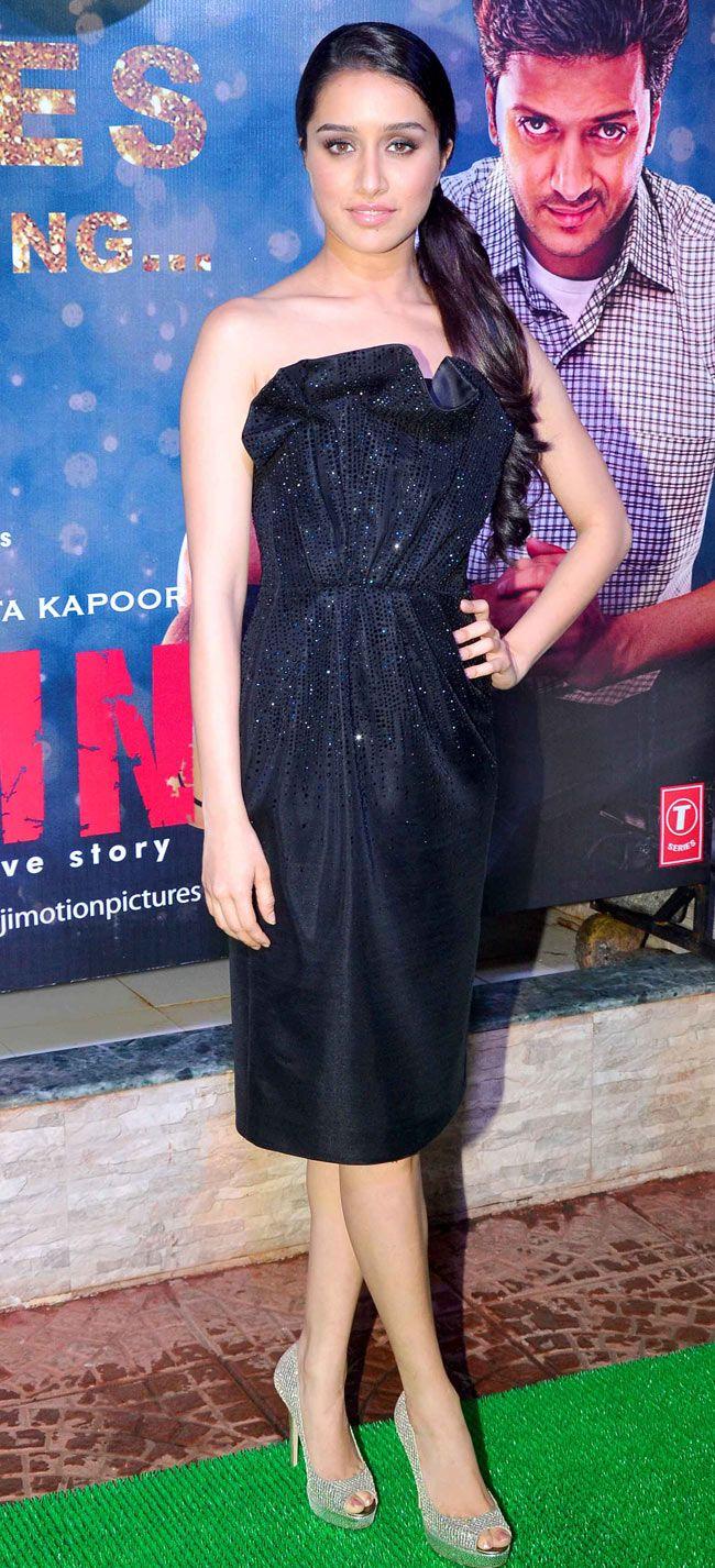 Shraddha Kapoor at the success bash of 'Ek Villain'