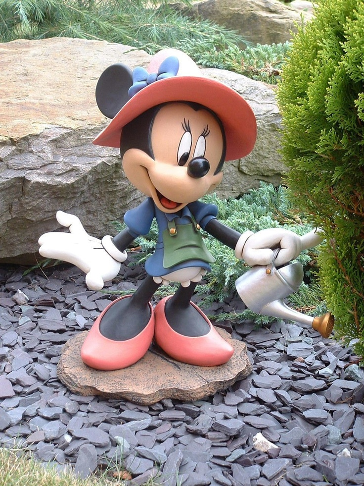minnie mouse mice and gardening on pinterest. Black Bedroom Furniture Sets. Home Design Ideas