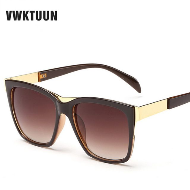 Buy now VWKTUUN Big Square Frame Sunglasses Women Men Sun Glasses Vintage Oversized Glasses Outdoor Sport Eyewear Male lunette de soleil just only $5.76 with free shipping worldwide  #womanaccessories Plese click on picture to see our special price for you