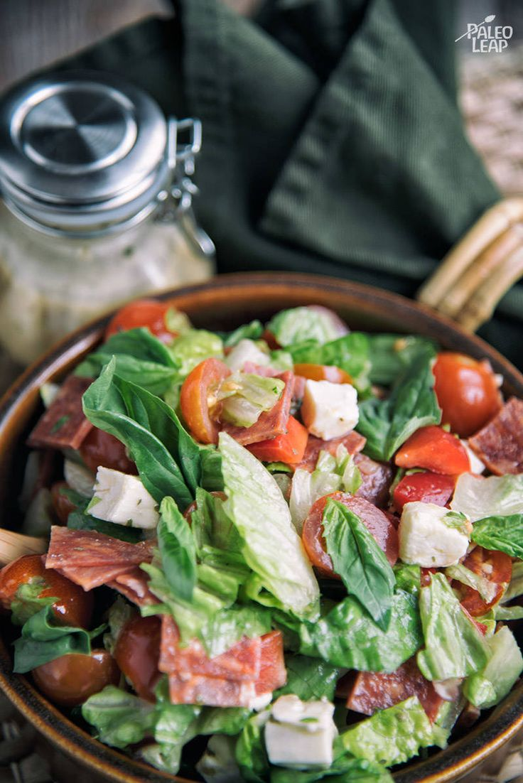 Italian Chopped Salad #Paleo