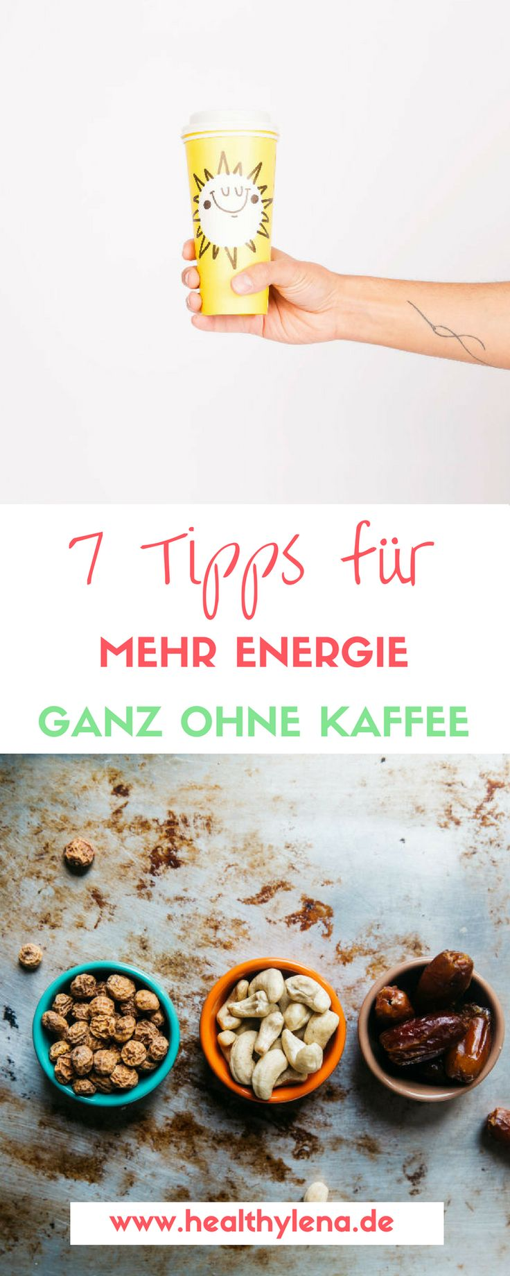 Keine Lust mehr auf das Koffein-Tief? Hier erfährst du 7 einfache Tipps für mehr Energie im Alltag – ganz ohne Kaffee!