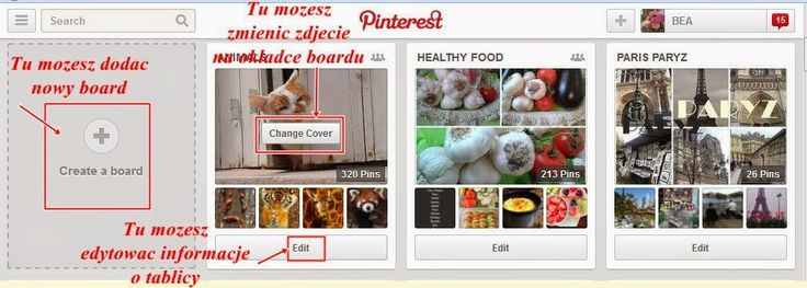 Pinterest - prosta instrukcja obsługi. - VADEMECUM BLOGERA