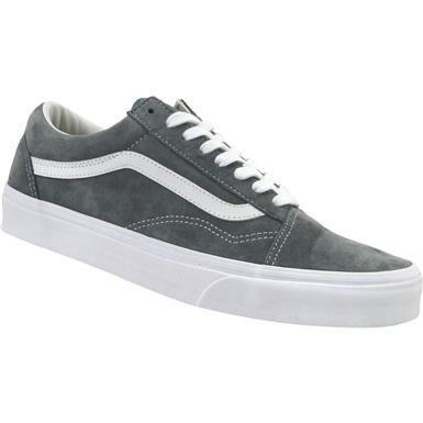 990812d4e7 Vans Old Skool Suede Skate Shoes - Mens in 2019