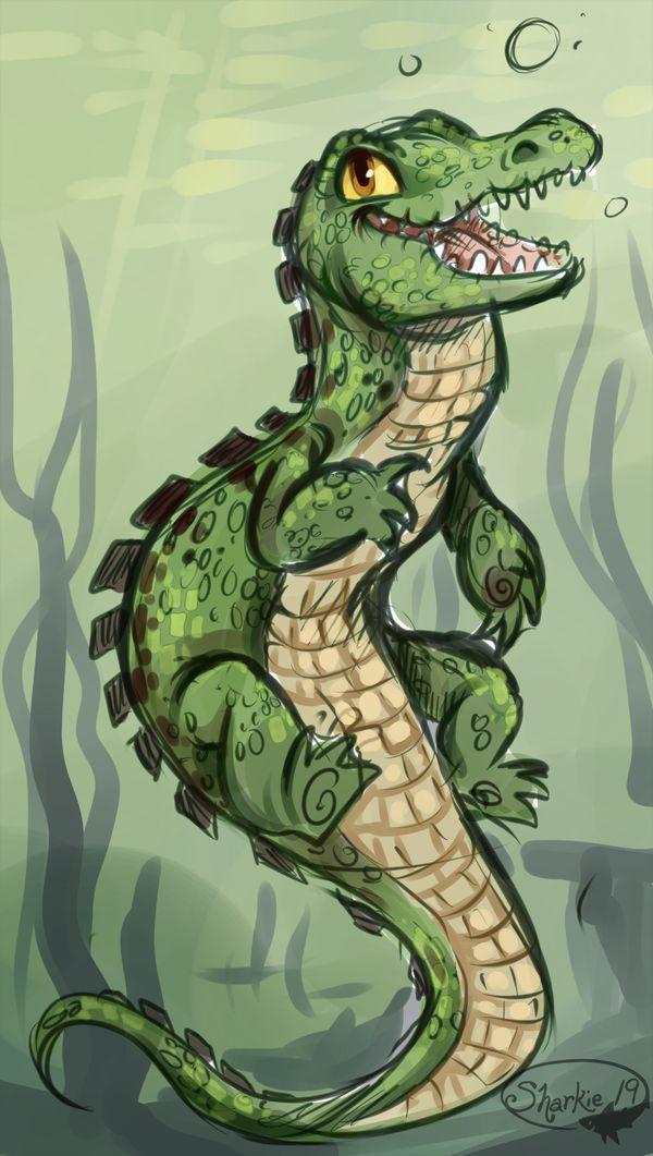 Crocigator by sharkie19.deviantart.com on deviantART