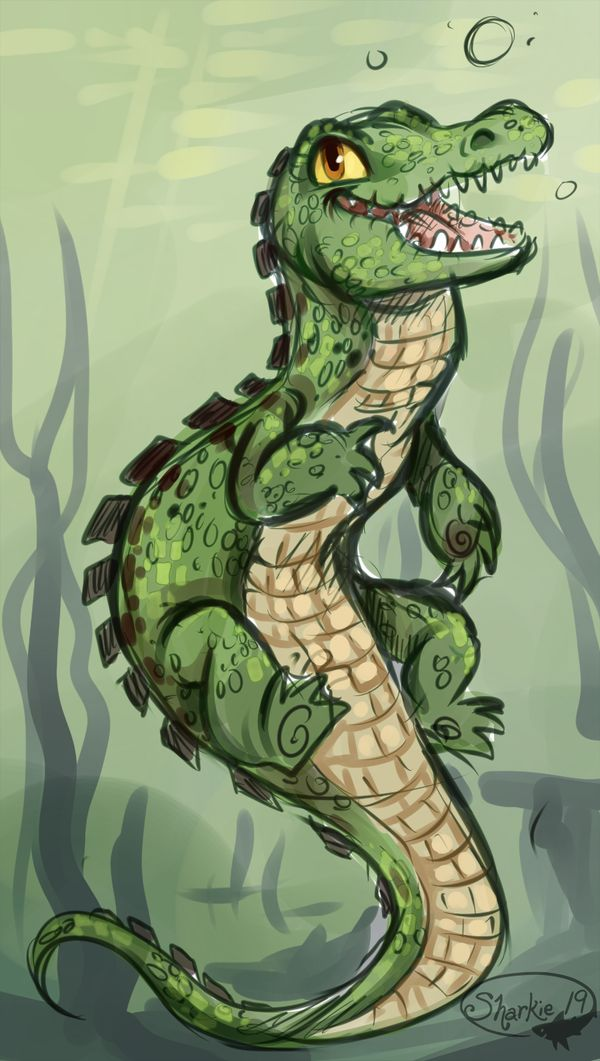 Crocigator by sharkie19 on DeviantArt