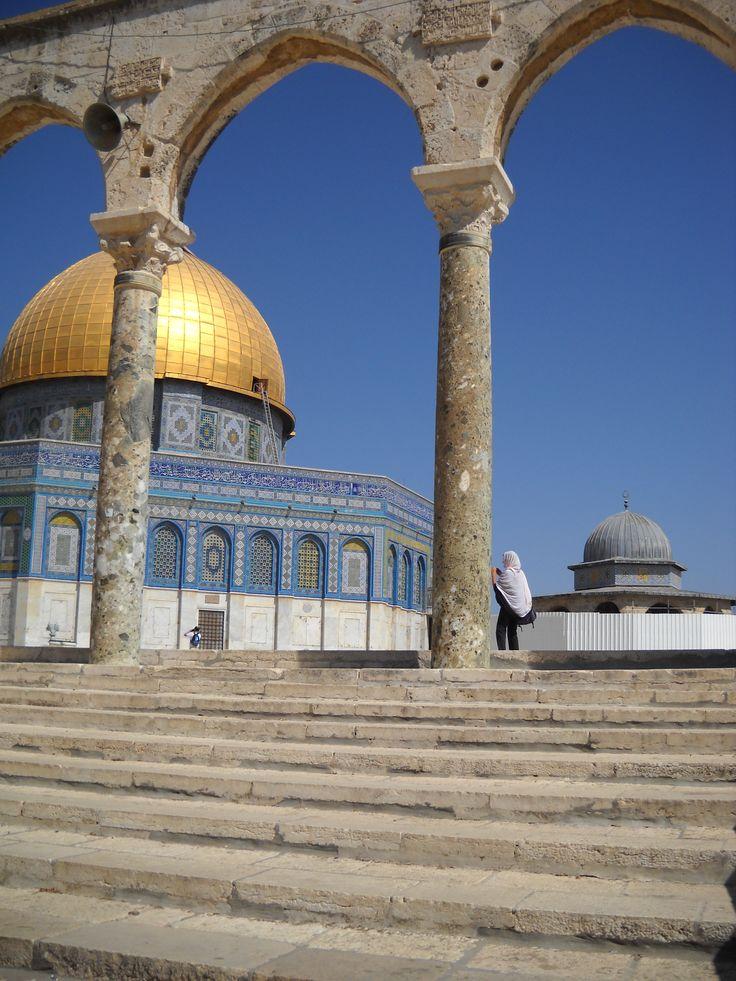 un'atea a Gerusalemme percepisce la spiritualità