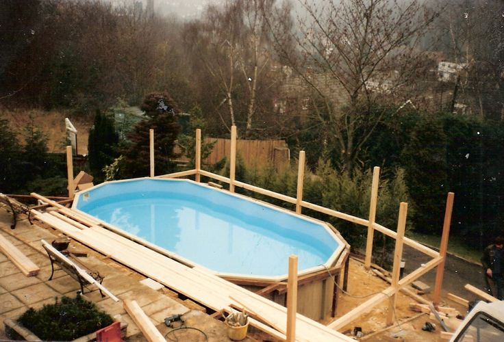28 best images about pools on pinterest sloping backyard for Pool design for sloped yard