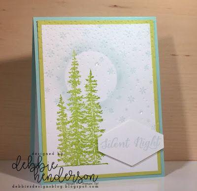 Debbie's Designs: Merry Monday Challenge #271 using Stampin' up! Wonderland. Debbie Henderson #merrymondaychallenge #stampinup #wonderland #debbiehenderson #debbiesdesigns