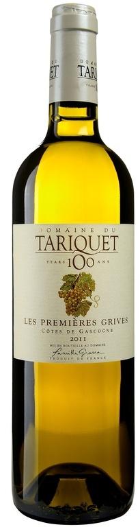 """MyGoodWines - Côtes-de-Gascogne """"Les Premières Grives"""" Domaine du Tariquet - Vin du Sud-Ouest"""