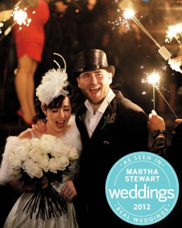 As seen in the March 2012 edition of Martha Stewart Real Weddings, my wedding sparklers with DIY sparkler tags and guest sign will make for awesome pictures and big fun for your wedding guests.  Included with the set:    _________________________________________________________________________    50...    $59