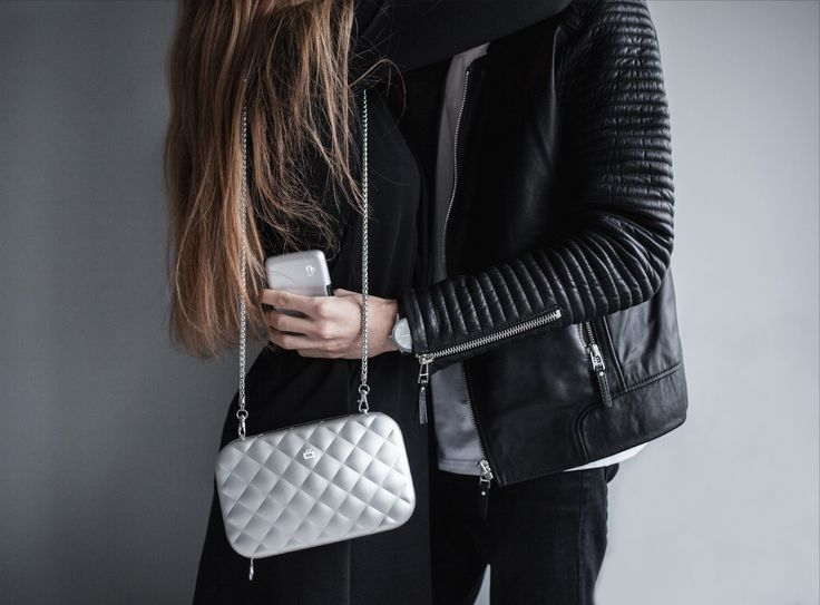 A nice couple w/ the QUILTED LADY BAG & the STOCKHOLM by ÖGON DESIGNS