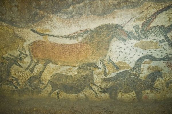 """Ancient paintings known as the """"Sistine Chapel of Cave Art"""""""