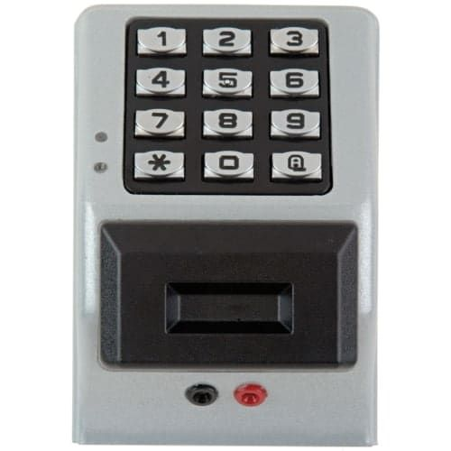 Alarm Lock PDK3000 Trilogy 2000 User Weatherproof Electronic Digital Lock Keypad with Proximity Access (Satin Chrome)