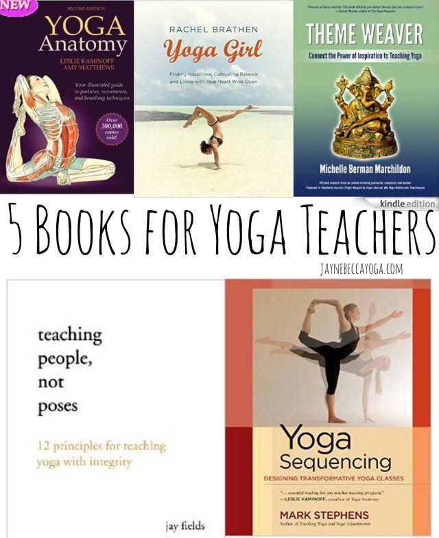 5 Books for Yoga Teachers                                                                                                                                                                                 More