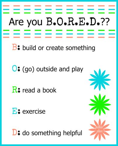 """Our Summer Schedule: Creating Structure to Avoid Chaos 