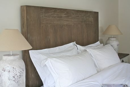 Rustic bed head by Rustic Coast