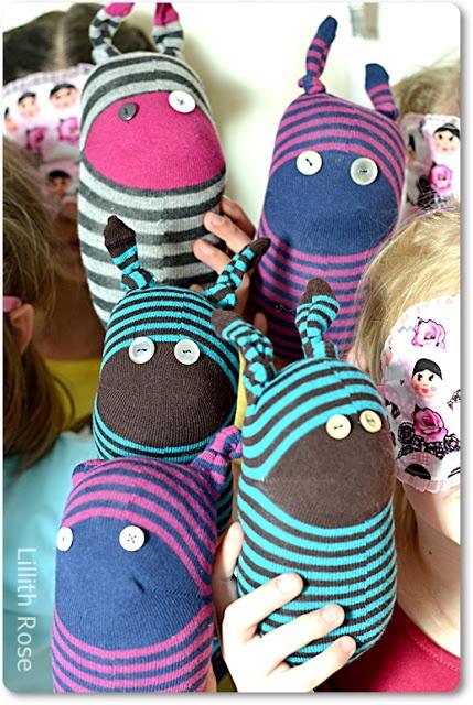 Lillith Rose: Socken Freunde