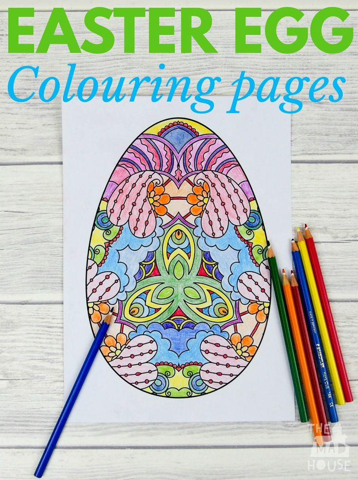 1000 ideas about Easter Colouring