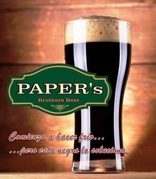 Paper's Brothers Bar and Pub - Santa Cruz, #Colchagua Valley.. Beer, Beer.
