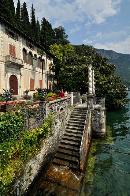 on Lake Como in Italy