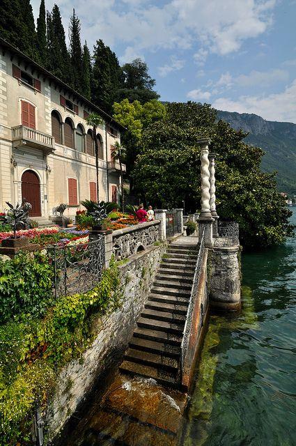 Varenna - Villa Monastero, Lake Como, Italy...