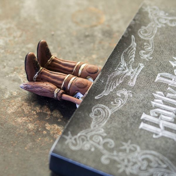 Are you a seeker? Celebrate your love of Quidditch with this handcrafted bookmark from the Wizarding World of Harry Potter. A wonderful conversation starter.  <ul> <li>Real colors may differ from display images</li> <li>Polymer clay, metal, and acrylic</li> <li>Perfect for Harry Potter fans</li> </ul>