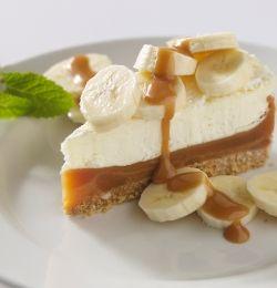 Banoffee Pie -  Le Banoffee Pie, est une tarte anglaise à base de bananes, de crème chantilly et de caramel de lait concentré, sur un fond de tarte de biscuits émiettés