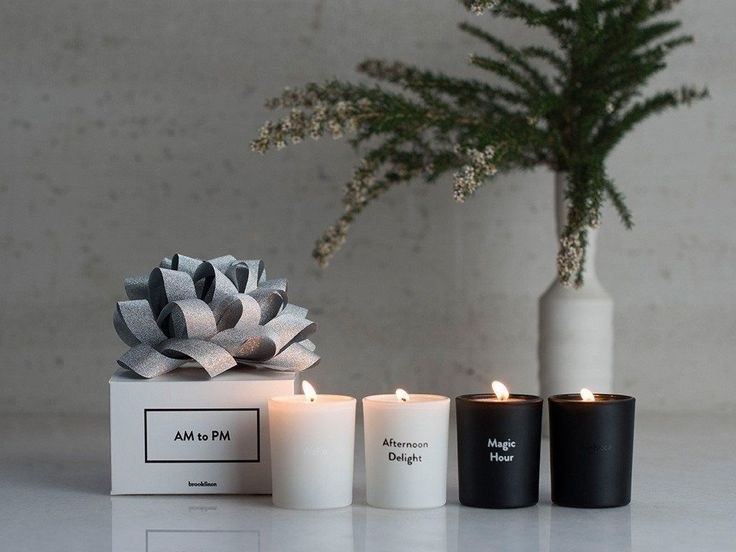 29 Gifts That Are Guaranteed To Impress #refinery29  http://www.refinery29.com/hostess-gifts#slide-24  Make sure you're fondly thought of all day long: Brooklinen's set of AM to PM candles has a scent for every time of day. Brooklinen AM To PM Set, $59, available at Brooklinen....