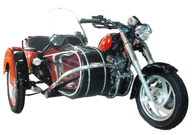 Ein wunderbares KRAD mit BEIWAGEN für den Einsteiger, und all jene, die ein preiswertes Motorrad mit Beiwagen,  in der Leichtgewicht Klasse bevorzugen;