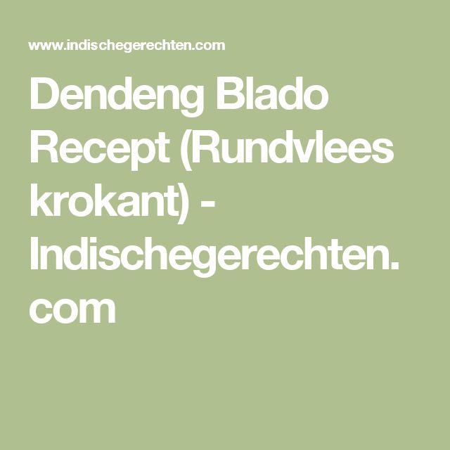 Dendeng Blado Recept (Rundvlees krokant) - Indischegerechten.com