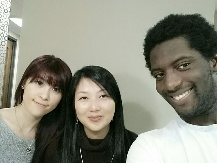 Youtube filming with Jody and Jacob for free Korean lessons  같이 (ga-chi) = together  www.mylanguageconnect.com