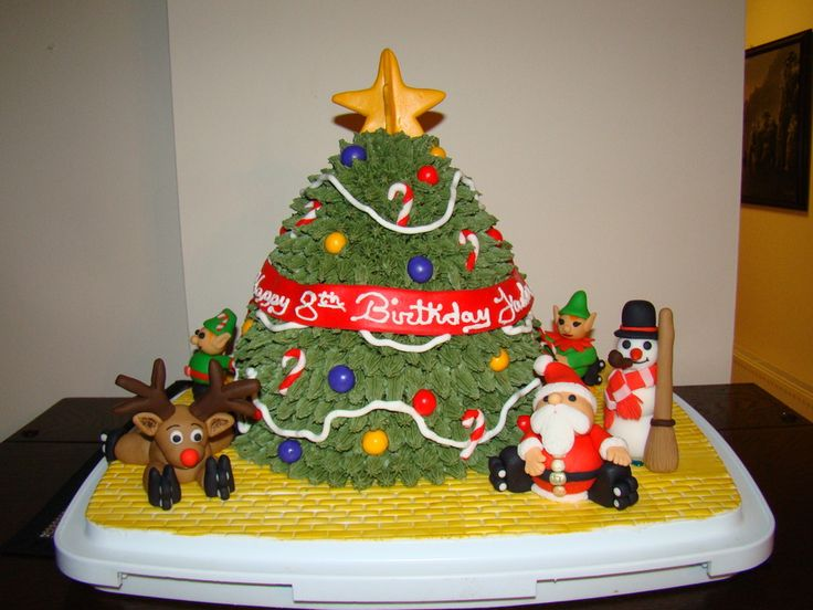 17 Best images about Parties - Christmas Cakes on ...