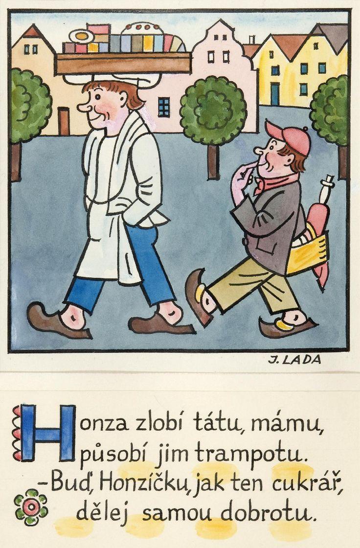 Kalamajka – Honza zlobí (Cukrář), 1913