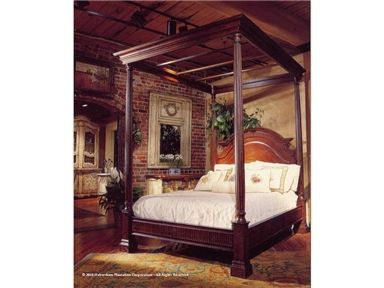 Shop For Habersham Plantation Corporation Monet Canopy Bed   Queen, And  Other Bedroom Beds At Goods Home Furnishings In North Carolina Discount  Furniture ...