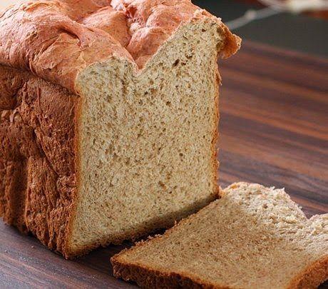 Pão Integral de Iogurte e Mel - Máquina de Pão